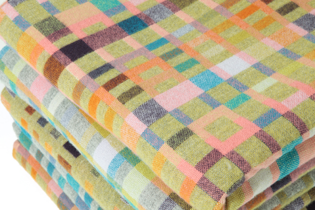 Holly Berry woven textiles LOVE blanket interview Meet the Makers