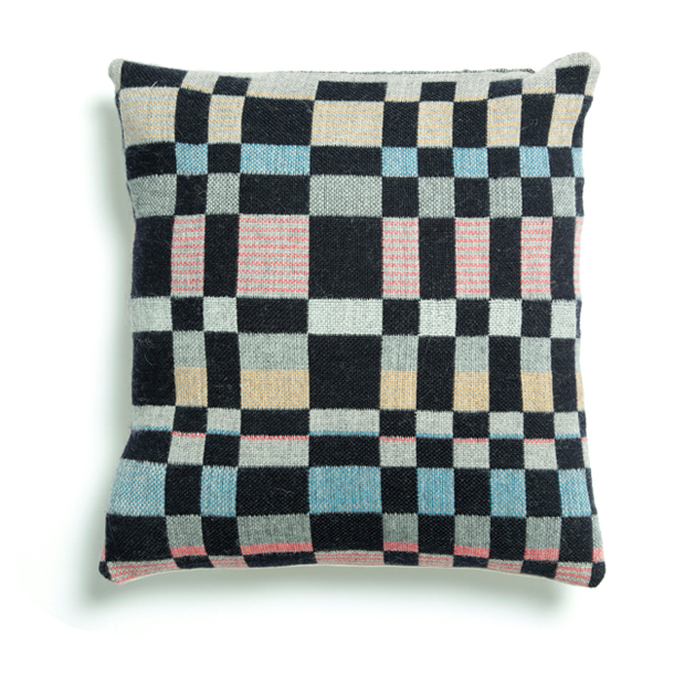 Holly Berry handwoven cushion interview Meet the Makers