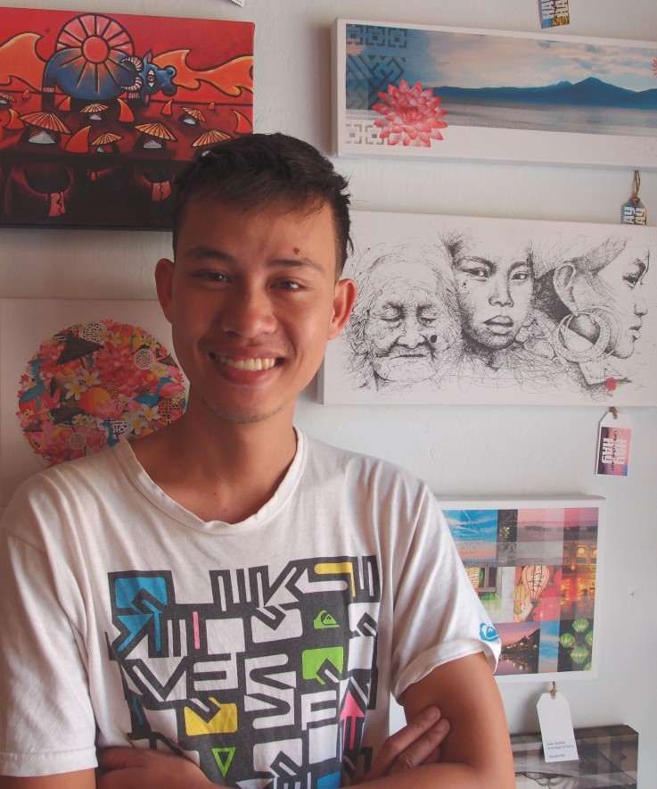 Ha Hay Hay Hoi An art gallery Vietnam interview