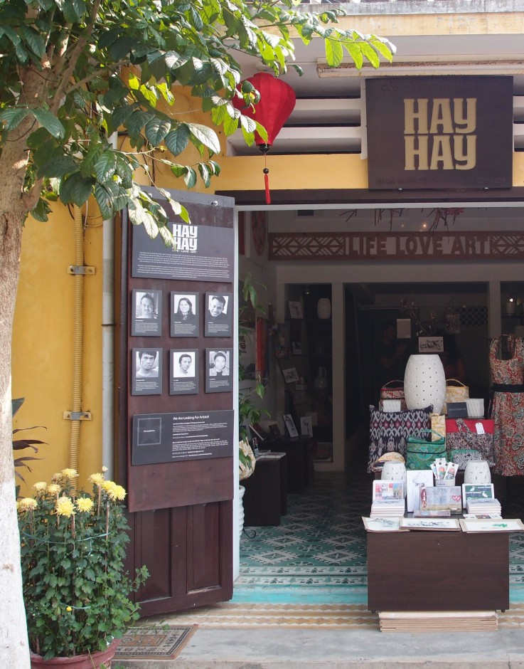 Hay Hay Hoi An art gallery interview Vietnam