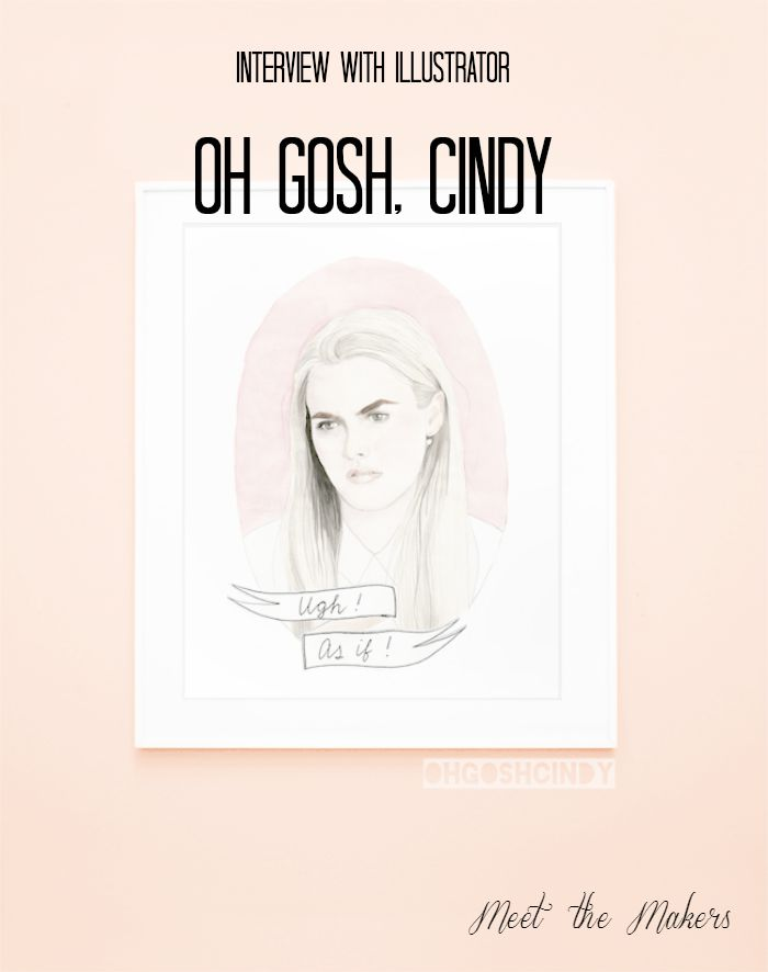 Oh Gosh Cindy interview cover image