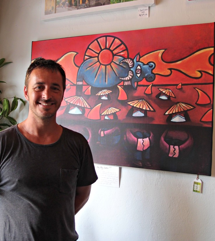 Shann Hay Hay Hoi An Vietnam art gallery interview